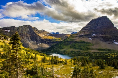 Glacier National Park is in which state?