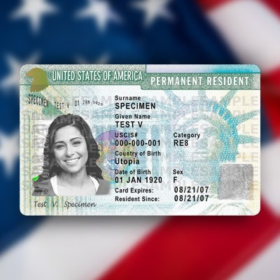 In order to qualify for a green card through employment which of these is not required?