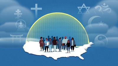 In the U.S., you have the right to practice any religion. True or false?