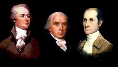 The Federalist Papers supported the passage of the U.S. Constitution. Name one of the writers.