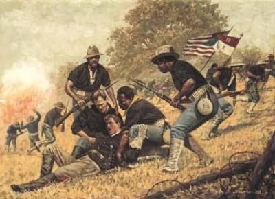 The Spanish-American War began under which president?