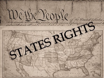 Under our Constitution, some powers belong to the states. What is one of those powers?