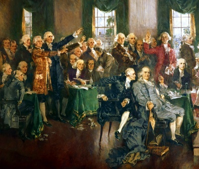 What happened at the Constitutional Convention?