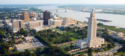 What is the capital of state of Louisiana?