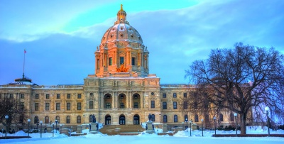 What is the state capital of Minnesota?