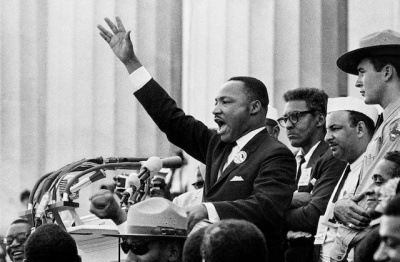 What movement tried to end racial discrimination in the United States?