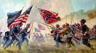 What was the name of the U.S. war between the North and the South?