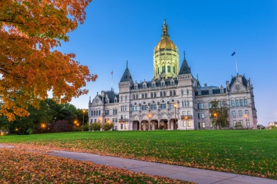 Which city is the capital of Connecticut?