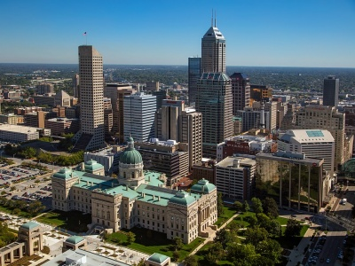Which city is the capital of Indianapolis?