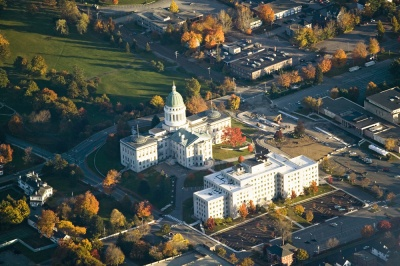 Which city is the capital of Maine?