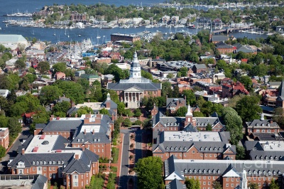 Which city is the capital of Maryland?