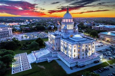 Which city is the capital of Rhode Island?