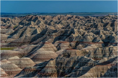 Which national park is known for having some of the world's richest fossil beds?