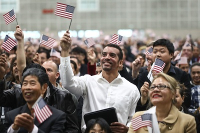 Which of these is a benefit of being a U.S. citizen?