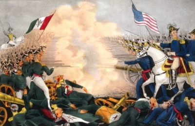 Which president presided during the Mexican-American War?