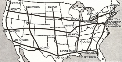 Which president supported the formation of the Interstate Highway System?