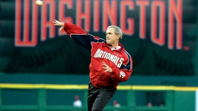 Which president was the first to throw out the ceremonial first pitch of the baseball season?