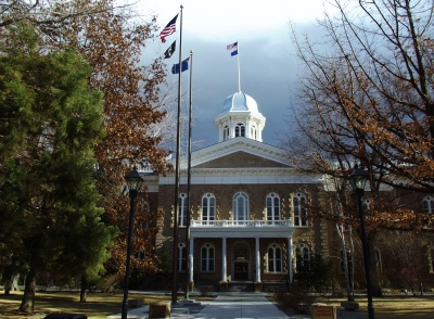 Which state is Carson City the capital of?