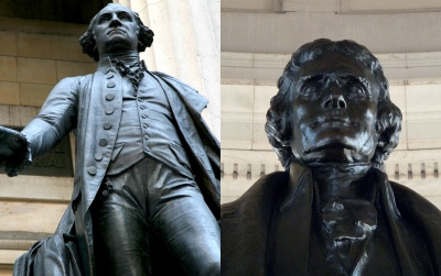 Which two presidents died on the same day which happened to be the 50th anniversary of the Declaration of Independence.