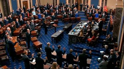 Who does a U.S. Senator represent in Congress?