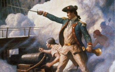Who is often called the Father of the American navy?