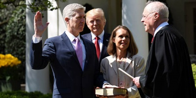 Who selects the Supreme Court Justices?