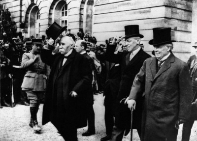 Who was the first sitting president to visit Europe?