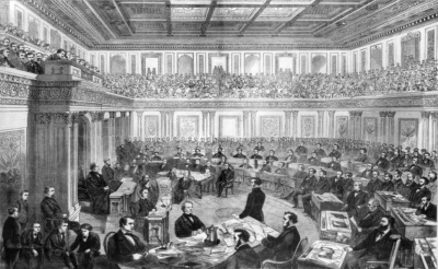Who was the only former president to later serve in the Senate?
