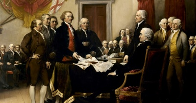 Who were the only two presidents to have signed the Declaration of Independence?