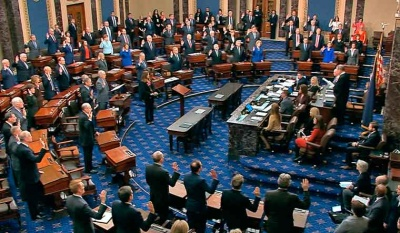 Why are there one hundred senators in the Senate?