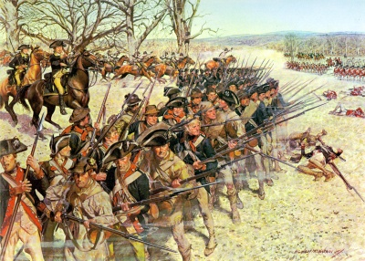 Why did the colonists fight the British?